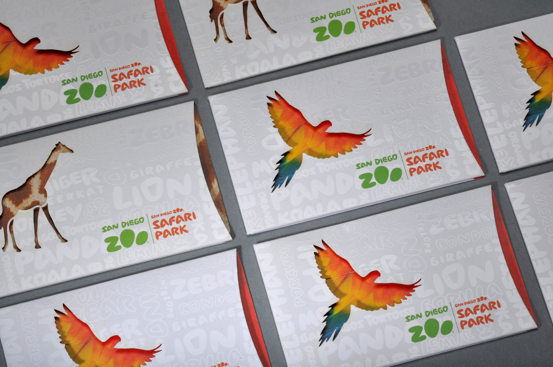 The gift that roars. San Diego Zoo and Safari Park Gift Cards and ...