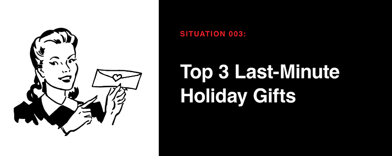 Holiday Survival Guide: Situation 003
